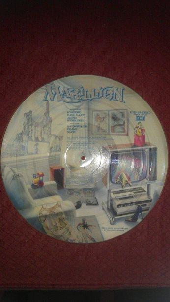 Back of Fugazi Picture Disk